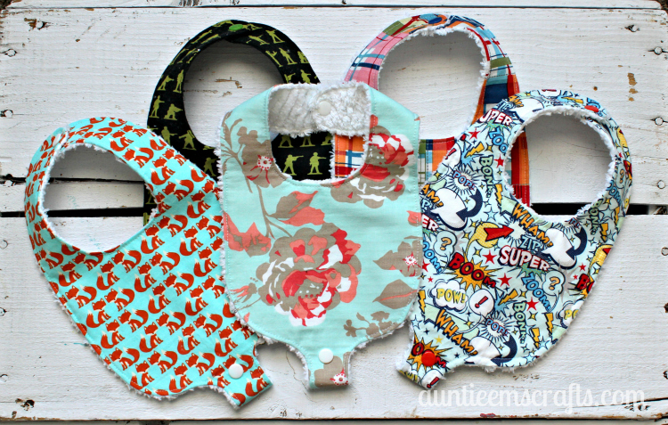 photograph regarding Baby Bib Patterns Printable named Binky Bib Habit and Information - Auntie Ems Crafts